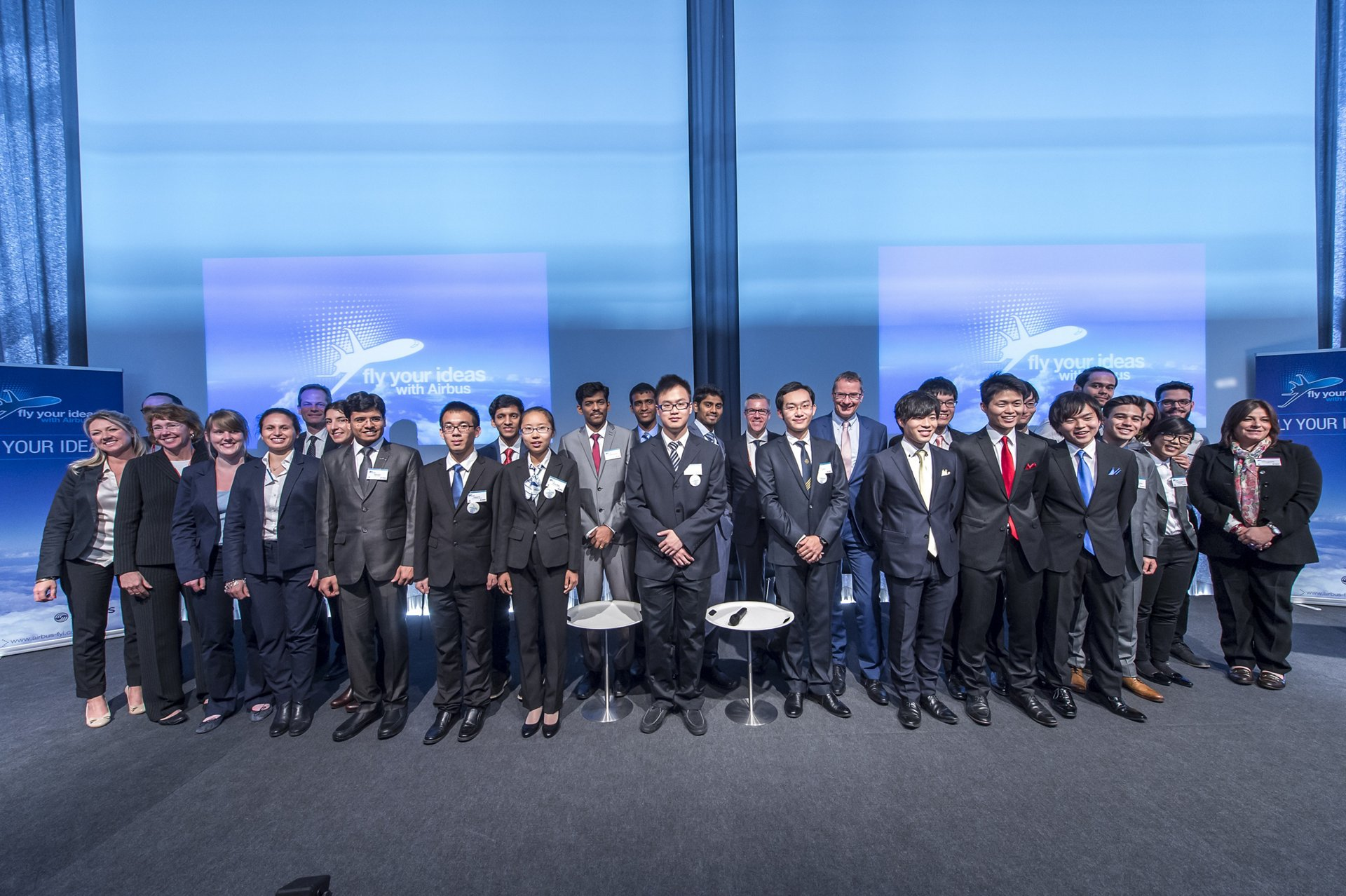 Airbus FYI 2015 event