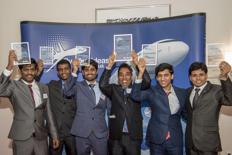 Airbus Fly Your Ideas 2015 winners Team Multifun from Delft University of Technology