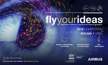 Airbus Renews Fly Your Ideas partnership With UNESCO - 2