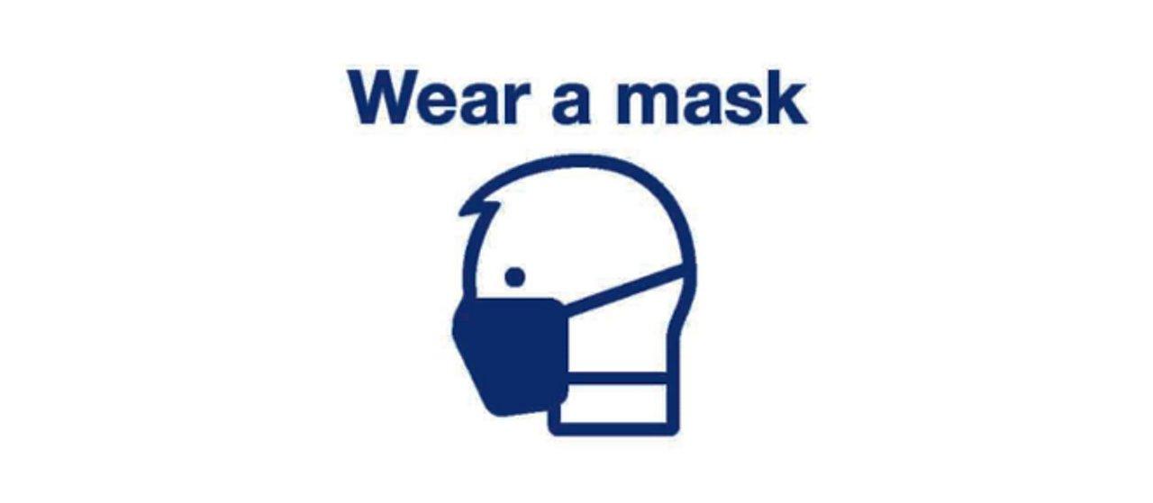 Safe travel - wear a mask