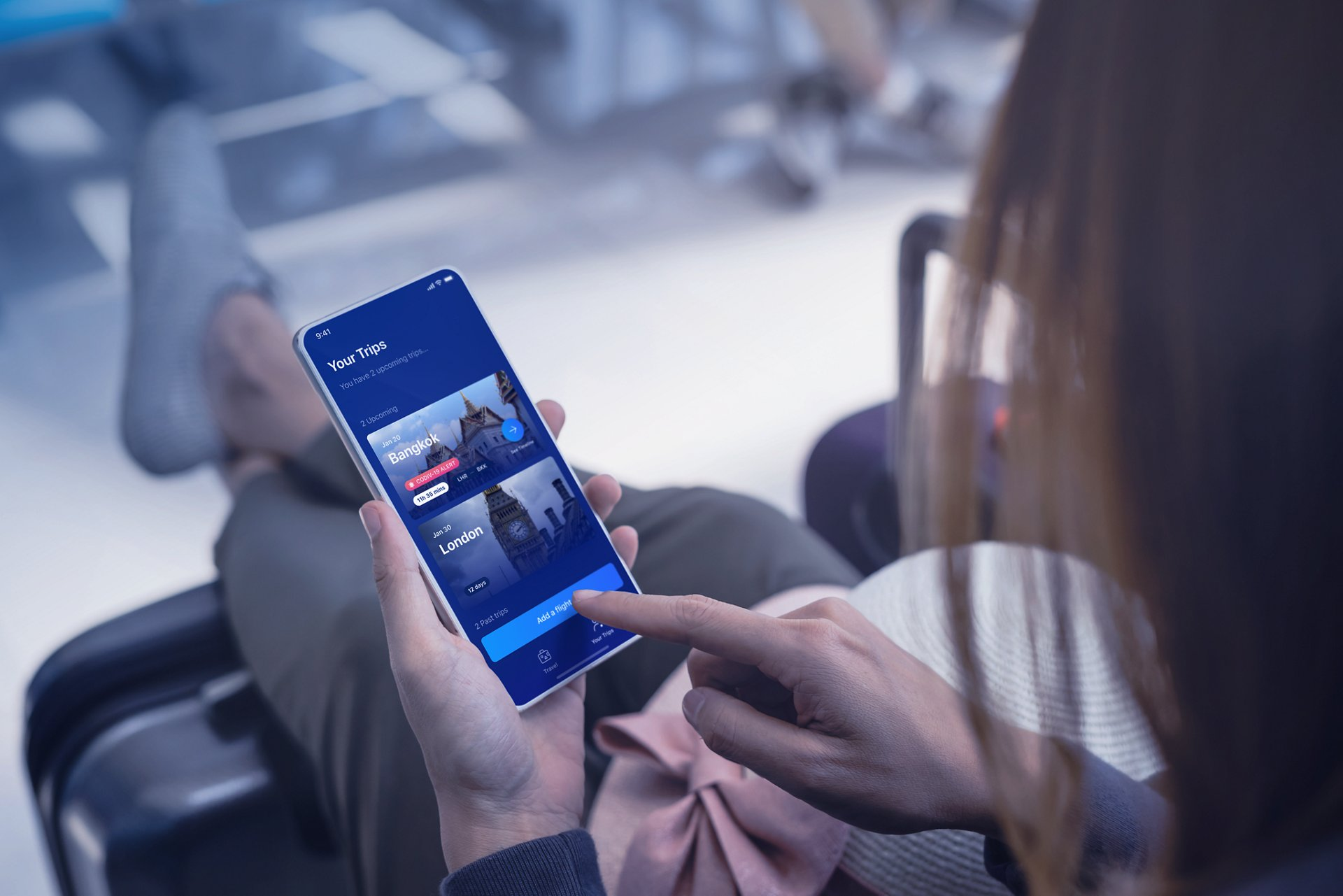 All information in Airbus' Tripset travel companion app is provided in an agnostic manner; no matter the airport, airline, flight number or aircraft type