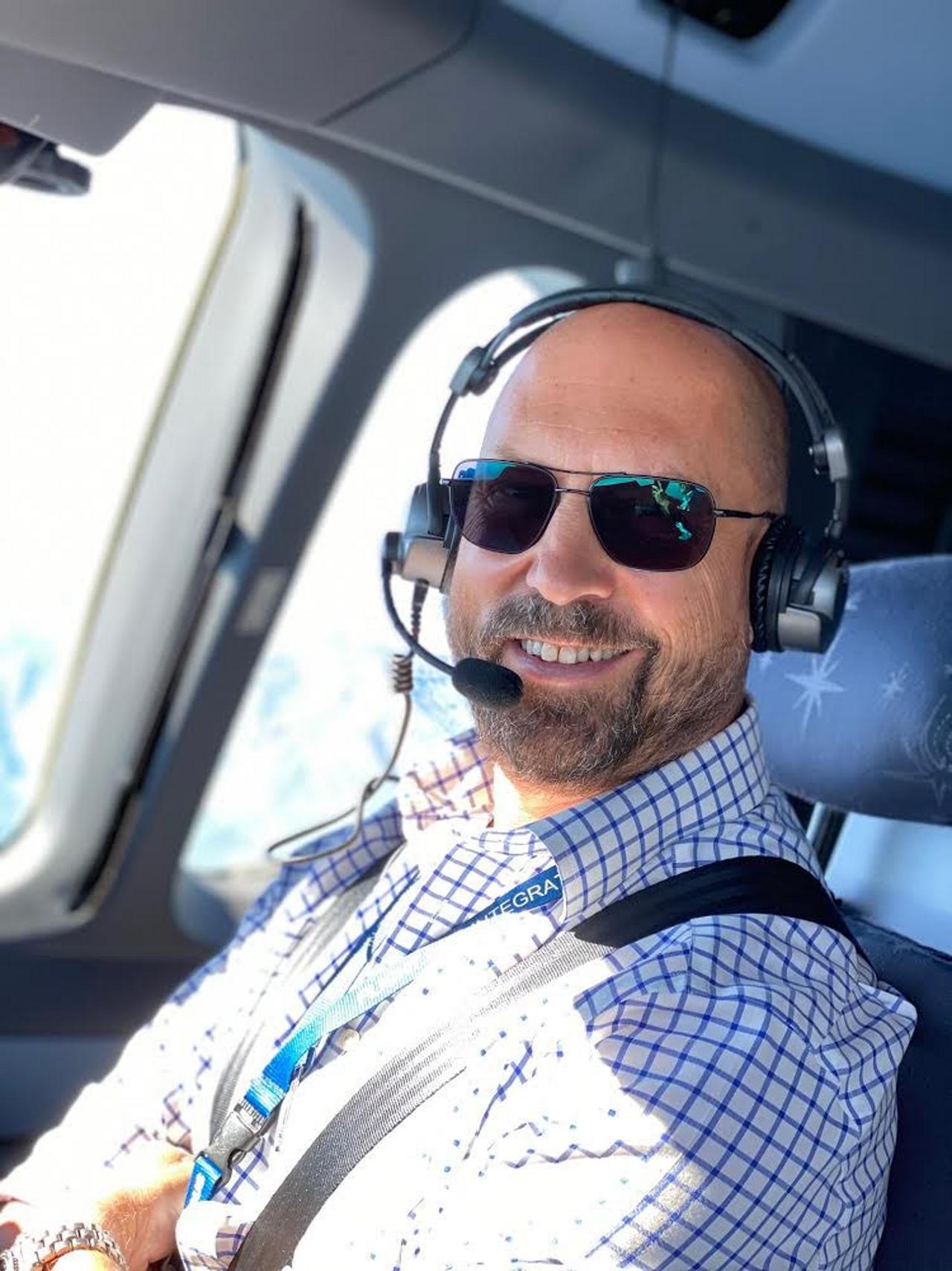 Shaun Wildey, Experimental Test Pilot