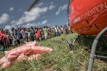 Airbus Foundation Humanitarian actions