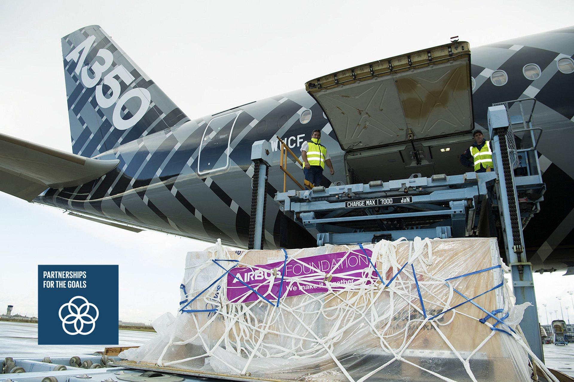 Airbus Foundation Humanitarian Flight SDG Icon