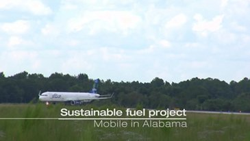 Airbus Jetblue Sustainable Fuel Project