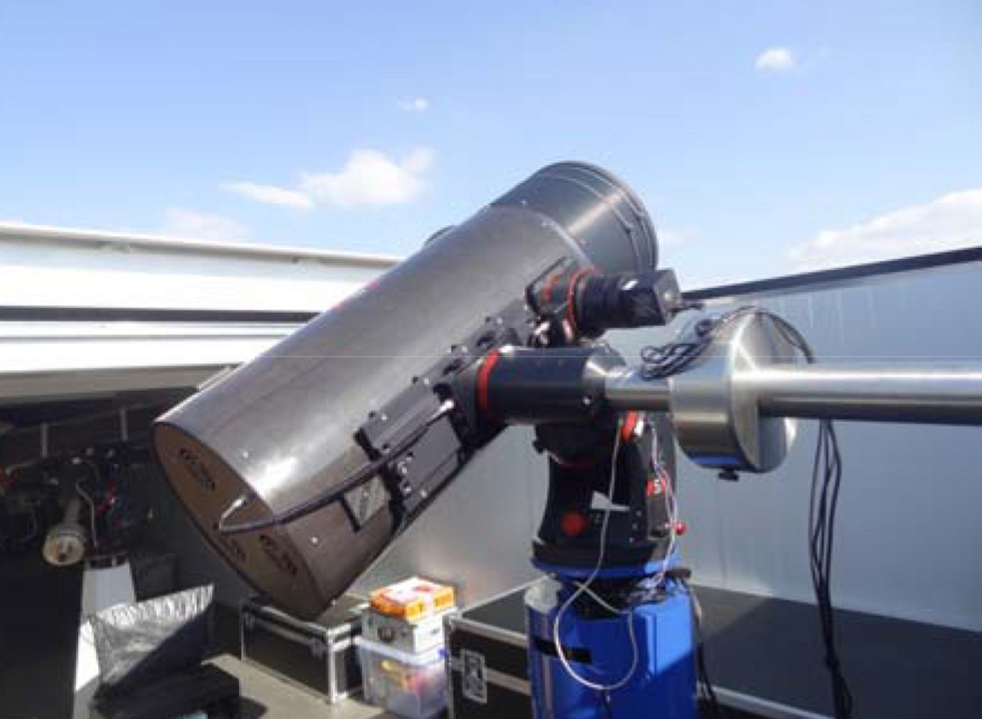 Airbus Robotic Telescope provides automated tracking and surveillance of satellites and debris in space.