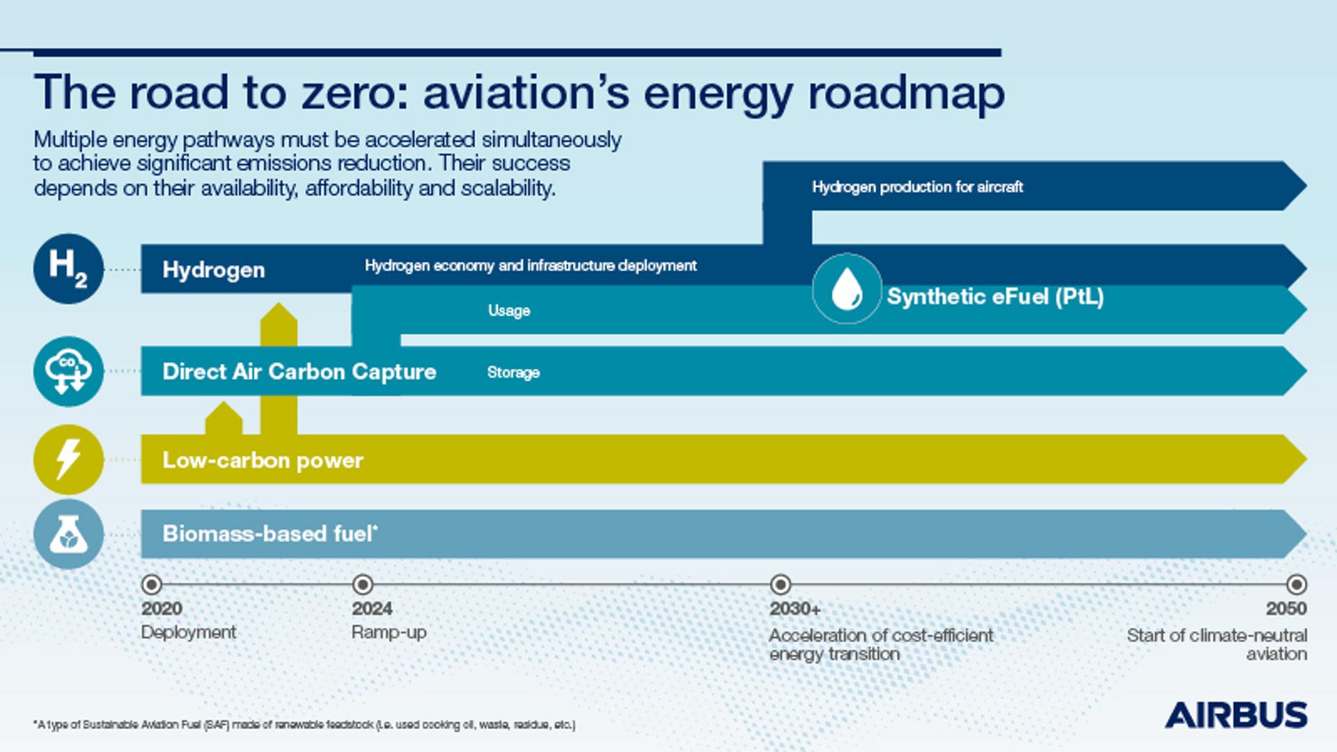 Energy Roadmap Infographic