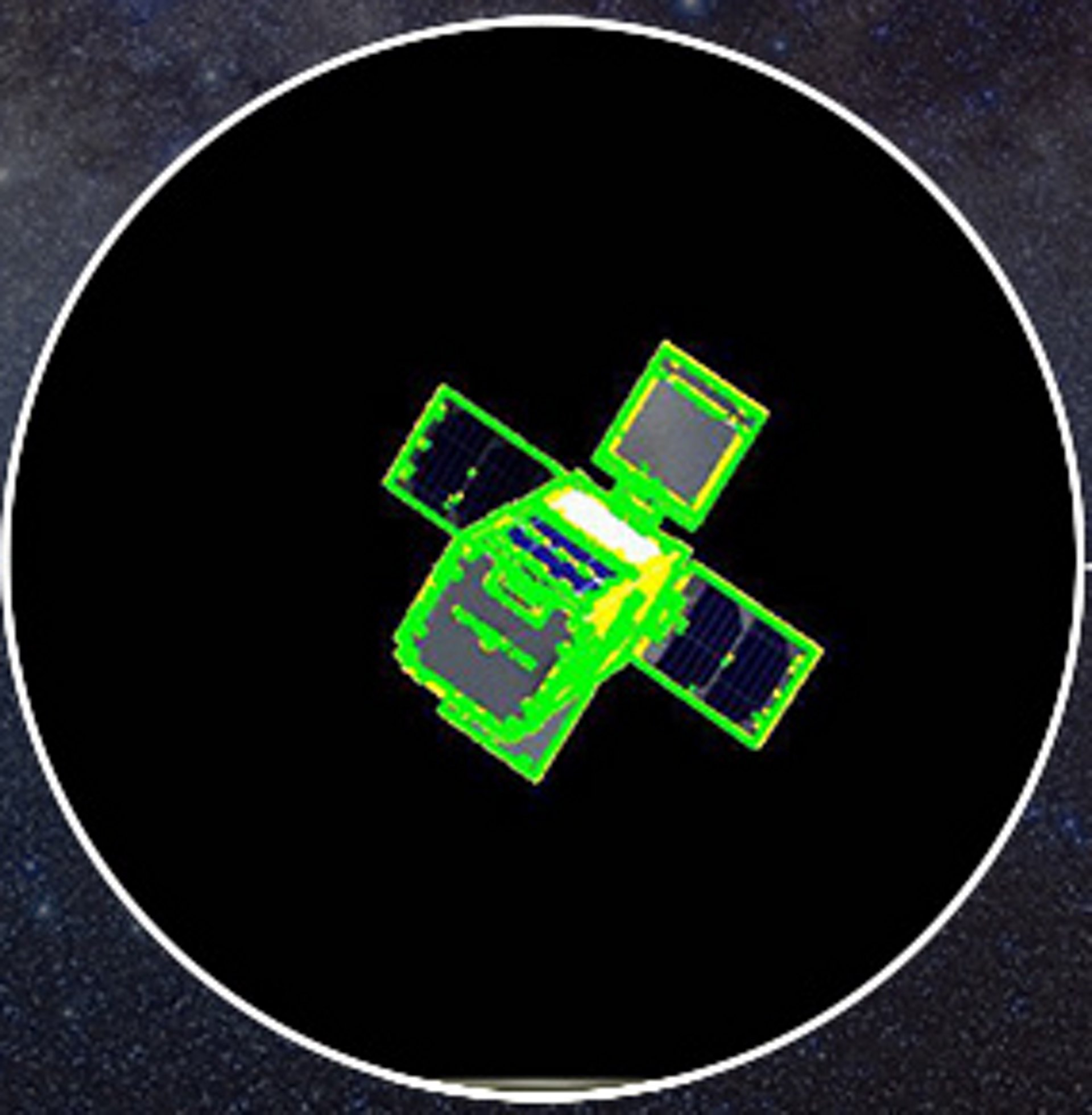 Alternative to GPS services uses 2D cameras and 3D LIDAR (light detection and ranging) technology to track in-orbit debris.