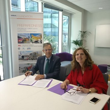 Airbus Foundation and Spanish Red Cross sign cooperation agreement