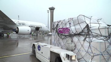 Airbus Foundation and French Red Cross bring relief to victims of hurricane Irma