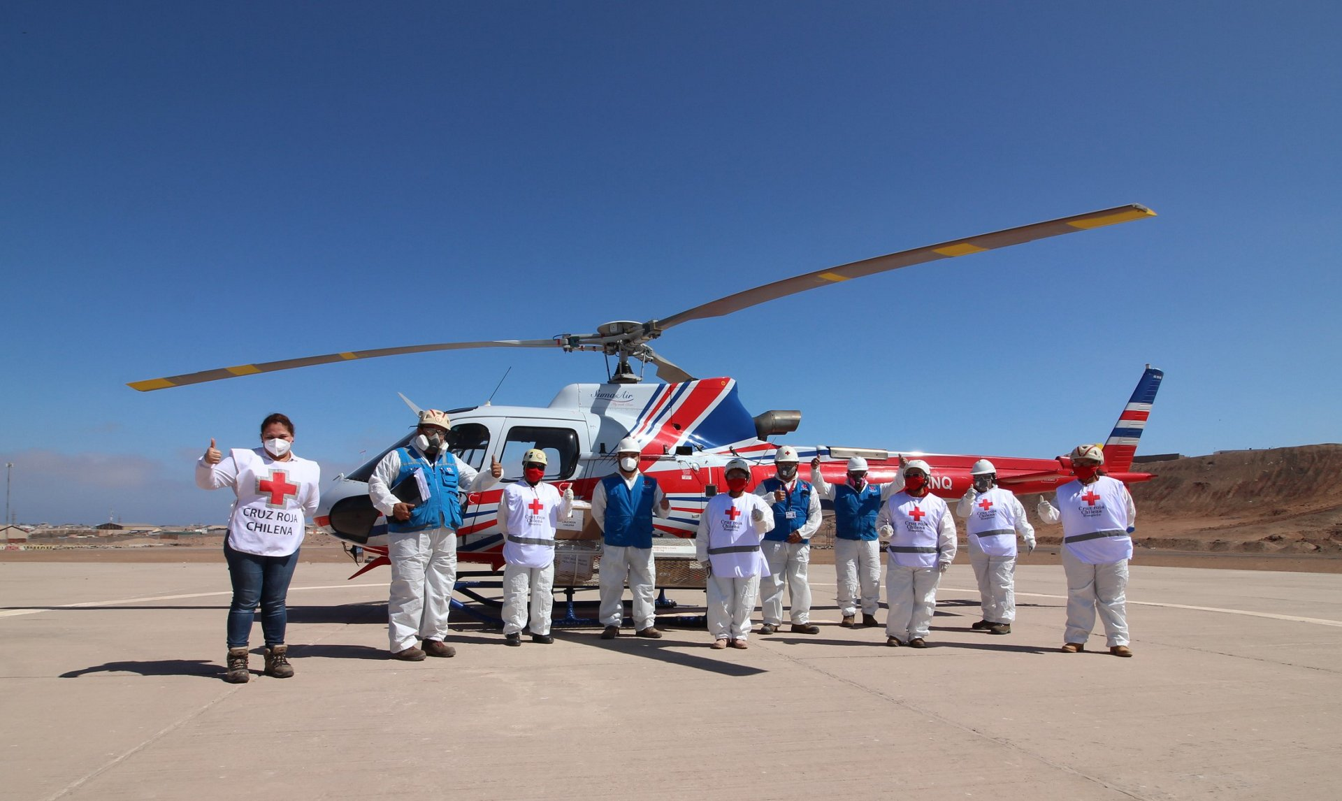 Airbus FOUNDATION helicopter Mission in Chile