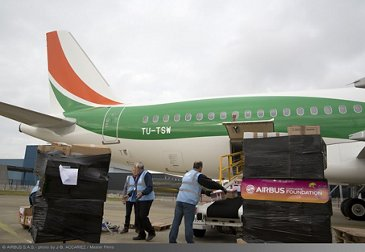 Airbus Foundation And Air Cote D Ivoire Ferry Flight