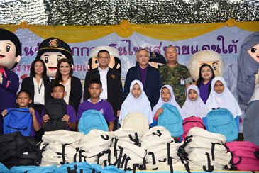 Airbus Foundation And THAI Deliver School Supplies To Narathiwat Province In Thailand(2)