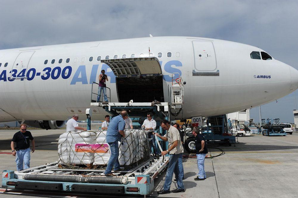 Airbus Somalia relief flight 2