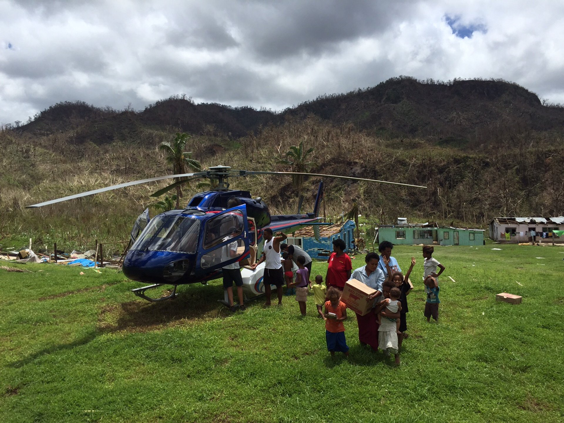 Airbus Helicopters Foundation supports Fiji in the aftermath of tropical cyclone Winston