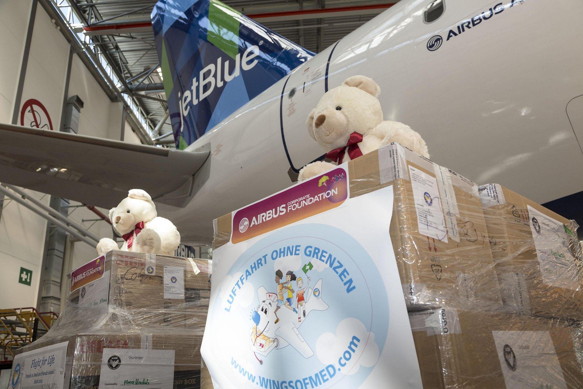 Airbus Corporate Foundation, JetBlue and Luftfahrt ohne Grenzen – Haiti aid 2