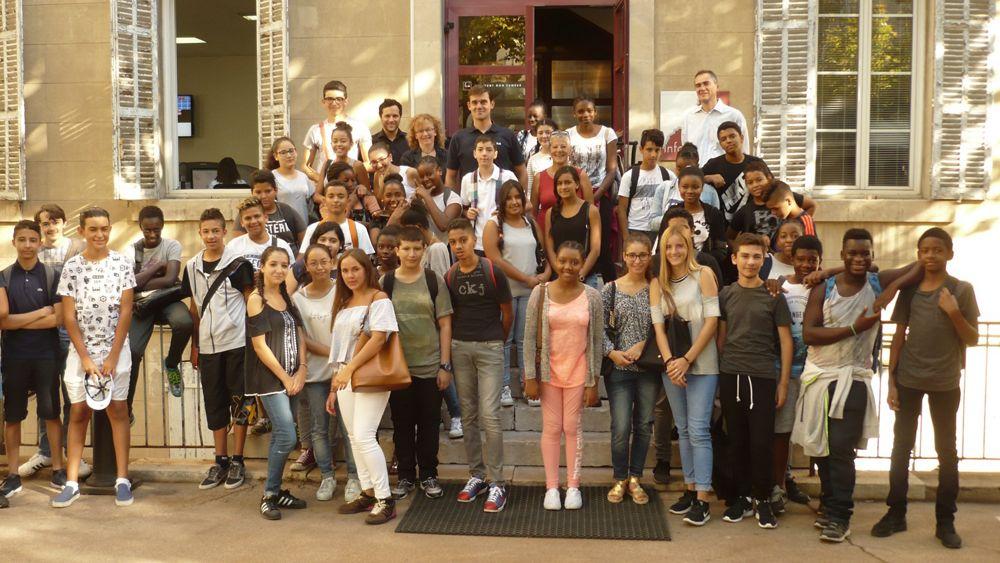 Airbus Helicopters volunteers inspire future generation at Institut Louis Germain summer school