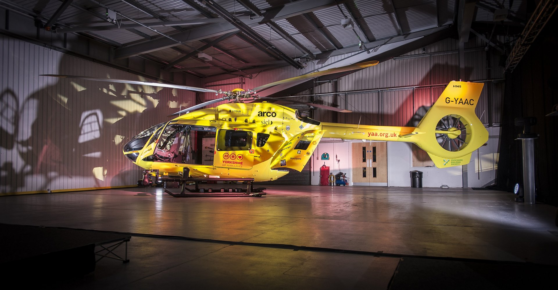Pride and Passion: Yorkshire Air Ambulance Presents its New H145