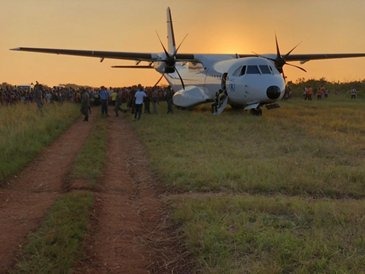 The C295 humanitarian action in Mozambique