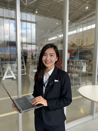 Enkhjargal Bavuudorj came to Japan when she was 15 years old and started a very fulfilling journey in aviation.