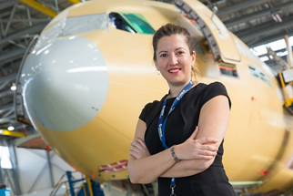 Estefania Matesanz joined Airbus in 2010 as a Msc. aeronautical engineer, and with a PDD from IESE business school.