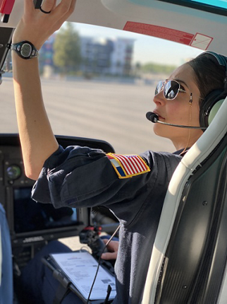 Esther Beckett is originally from France but throughout her flying career, she has flown over many different continents and trained students from all over the world.