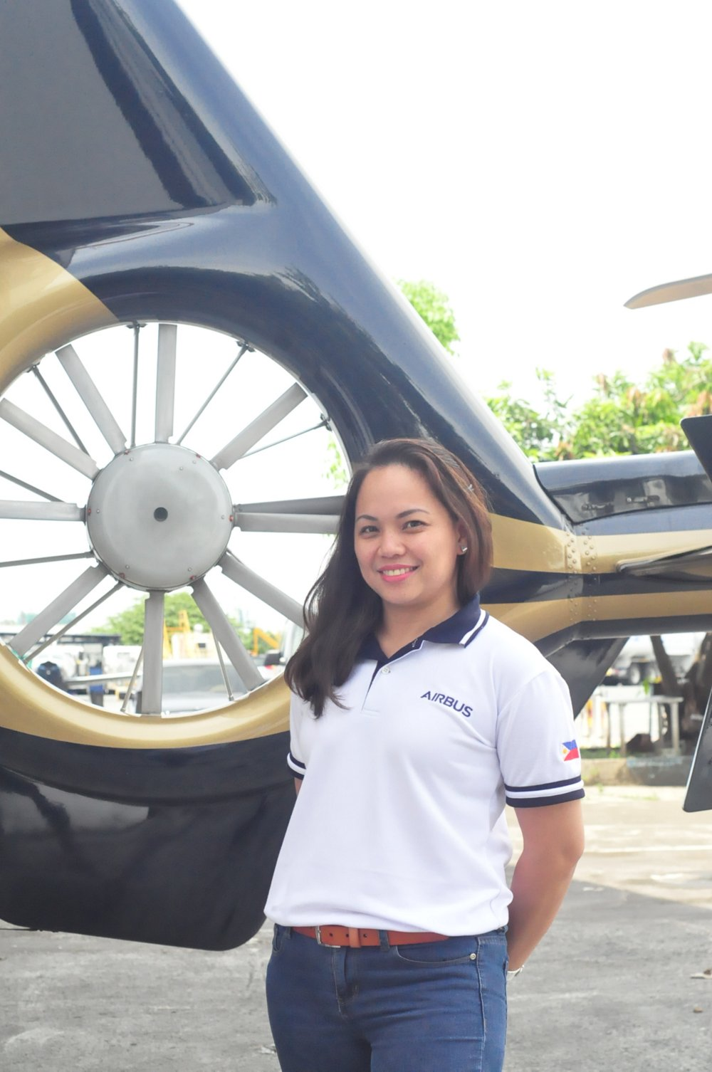 Melanie Tolentino joined the Airbus right after she completed her studies, and has been working for Airbus Helicopters in the Philippines for more than 20 years now.