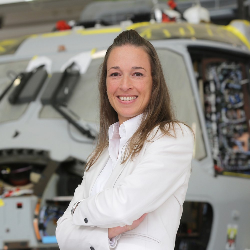 Silke Hirn has been working for Airbus for more than 20 years now, most of it in the Helicopter division.