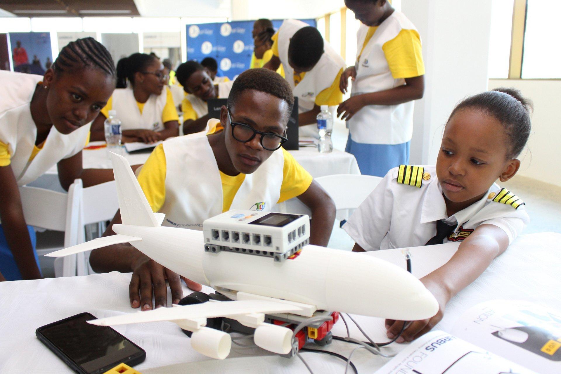 Airbus Foundation Little Engineer in Botswana