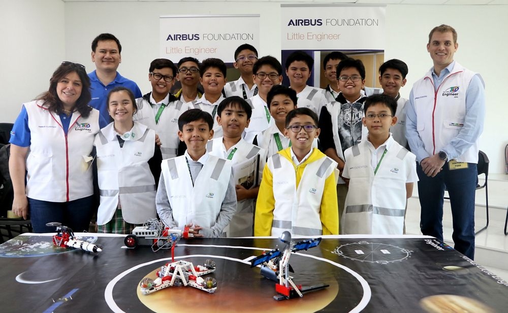 Airbus Little Engineer programme in the Philippines