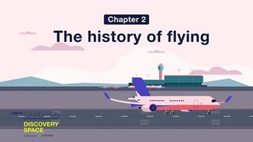 The history of flying