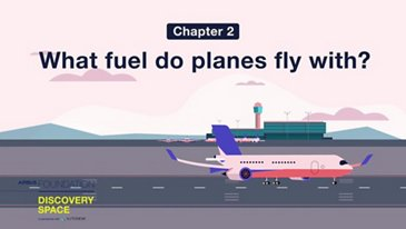 What fuel do planes fly with?