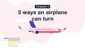 3 ways an airplane can turn