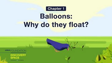 Balloons: why do they float?