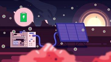 L'énergie sur la Lune