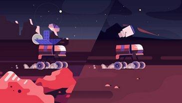 Vos déplacements quotidiens sur la Lune