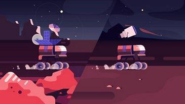 Tus traslados diarios en la Luna