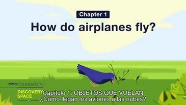 ¿Cómo llegan los aviones a las nubes?