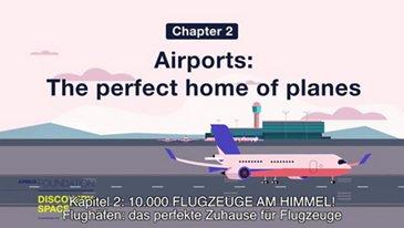 Flughäfen: das perfekte Zuhause für Flugzeuge