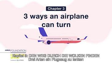 Drei Arten ein Flugzeug zu lenken