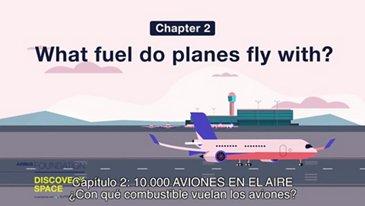 ¿Con qué combustible vuelan los aviones?