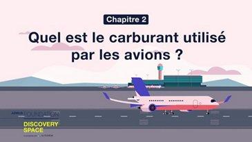 Quel est le carburant utilisé par les avions ?