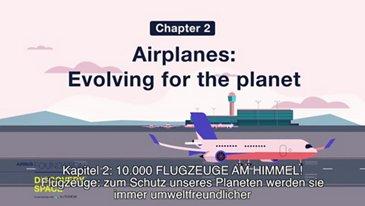 Flugzeuge: zum Schutz unseres Planeten werden sie immer umweltfreundlicher