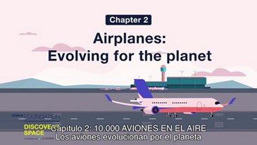 Los aviones evolucionan por el planeta