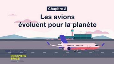 Les avions évoluent pour la planète