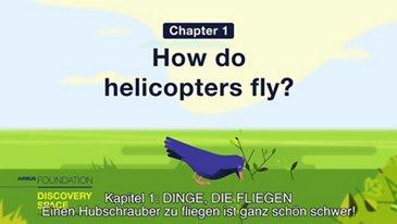Einen Hubschrauber zu fliegen ist ganz schön schwer!