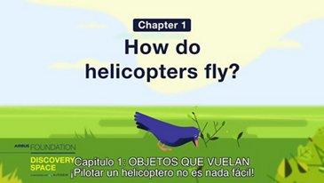 ¡Pilotar un helicóptero no es nada fácil!
