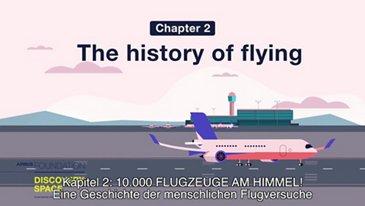 Eine Geschichte der menschlichen Flugversuche