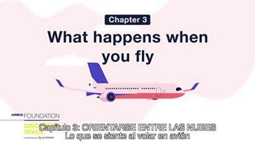 Lo que se siente al volar en avión