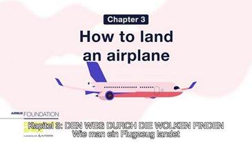 Wie man ein Flugzeug landet
